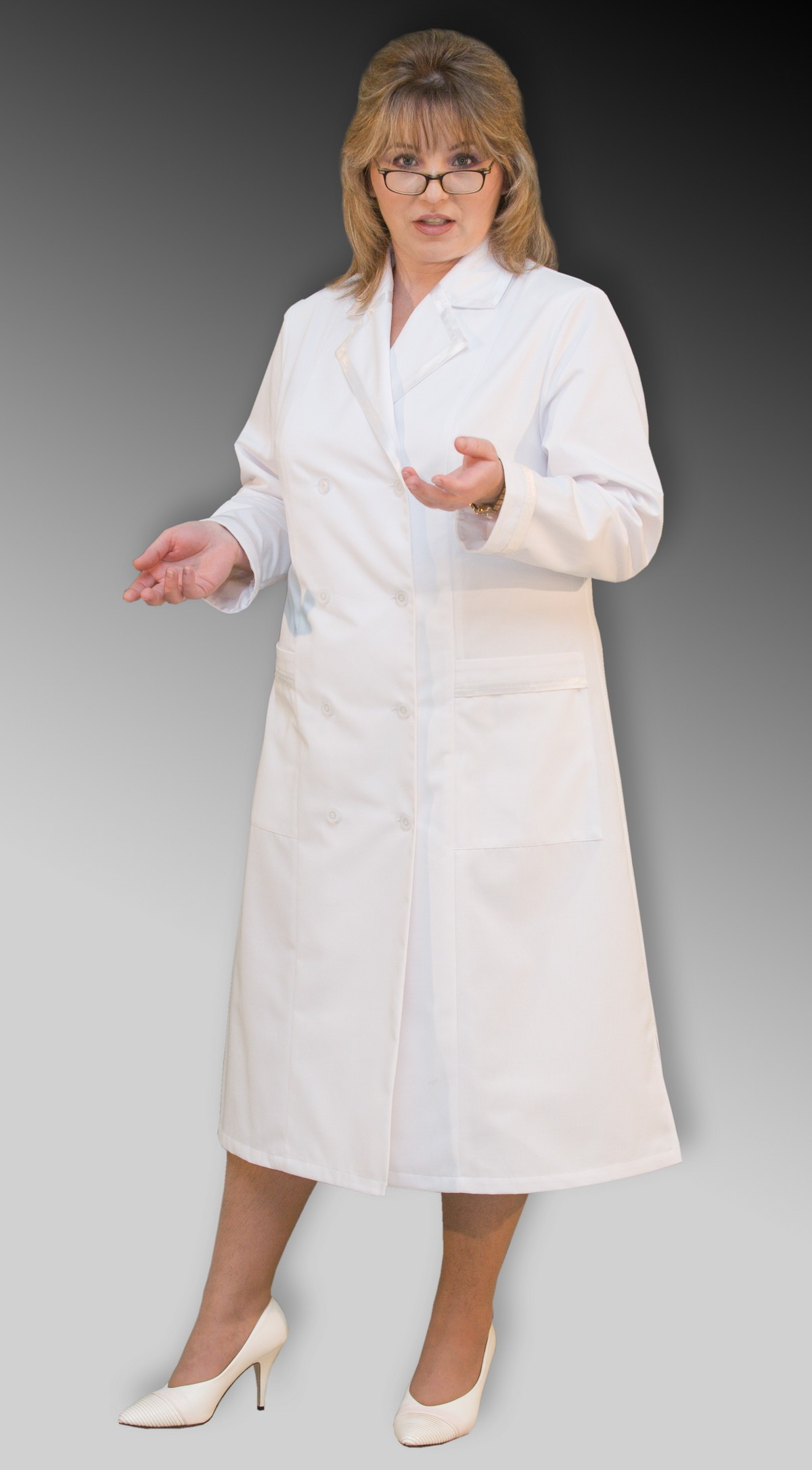 Купить медицинский халат большого размера 2