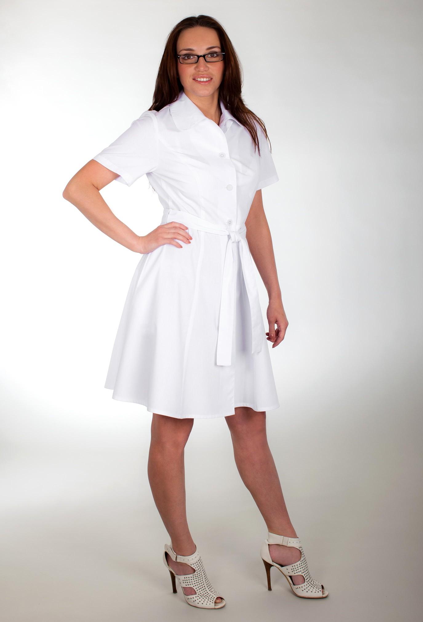 Халат медицинский платье